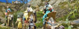 PERSONATGES DEL PESSEBRE: CAVALCADA DELS TRES REIS