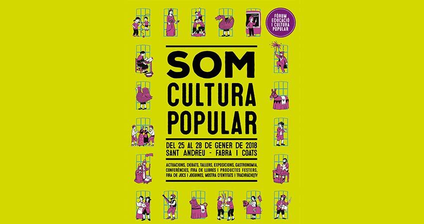 Som cultura popular 2018 Barcelona
