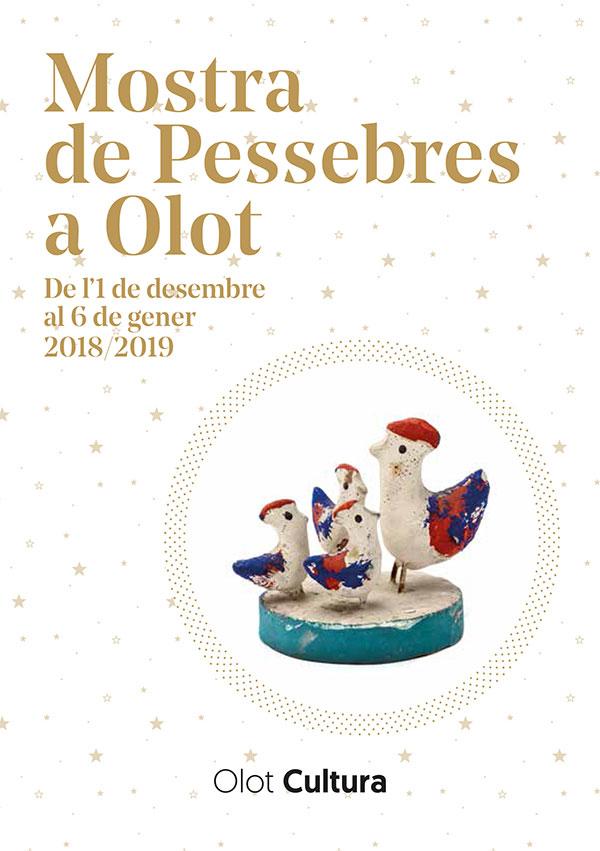 Mostra de Pessebres 2018-2019 a Olot