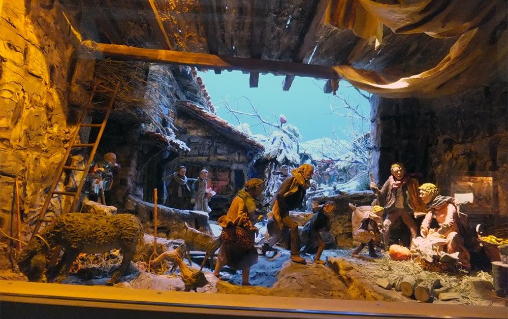 Diorama pessebrístic d'Amadeu Anglada