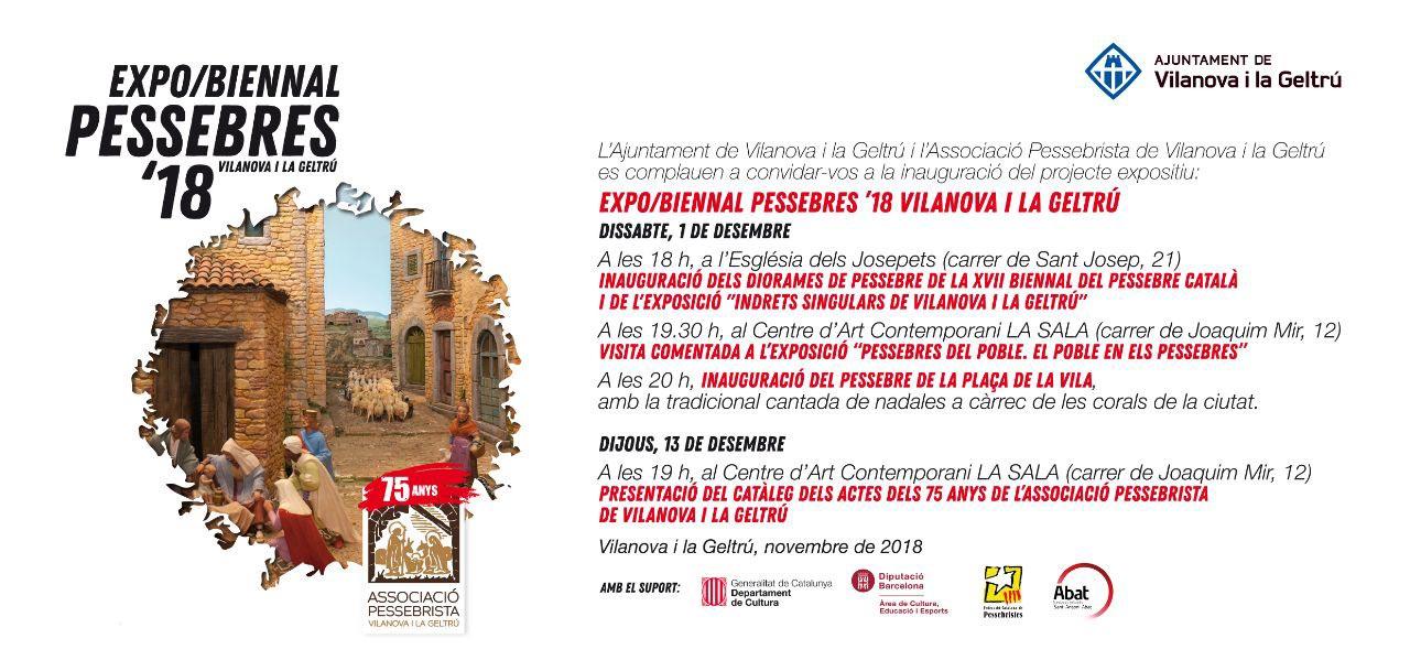Exposició Biennal de Pessebres 2018 a Vilanova i Geltrú